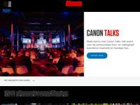 De Nederlandstalige site van Canon, mijn cameramerk.