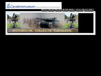 Website van het Museum Nederlandse Cavalerie in Amersfoort