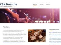 Website van Centrum Beeldende Kunst Drenthe