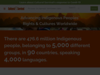 a website dedicated to the preservation of indigenous culture. Founder David Maybury-Lewis is an anthropologist who studied the Xavante nation, with whom I have spent various months in the last 15 years.