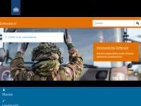 Site van het Ministerie van Defensie