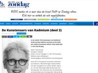 Artikel in Delft op Zondag over mijn werk.