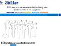 Artikel in Delft op Zondag.
