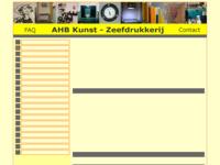 Voor mijn zeefdrukken ga ik naar de bekendste en voor mij de beste AHB Kunstdrukkerij van Nederland. Directeur Henk de Bouter won in 1998 de Bunning Brongersprijs.    .