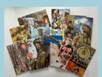 Al jaren secretaris van Stichting Kunstroute Presikhaaf.  Geeft collage worshops.