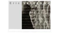 persoonlijke website van Eric Vandamme
