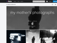 foto's van mijn moeder, Puck Lensvelt (1916-1987): zij was een zeer talentvolle fotografe hetgeen na haar huwelijk (door haar drukke gezinsleven met 6 kinderen) voornamelijk tot uiting kwam in prachtige family snapshots.