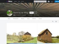 Mijn fotowebsite bij Flickr met een veel ruimere selectie van mijn foto's dan op deze website.