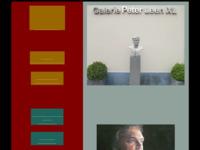 Mooie site van een frisse galerie.