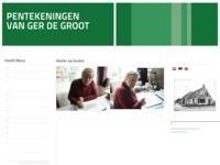 Website met pentekeningen van Ger de Groot