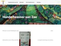 De culturele stichting Hundertwasser aan Zee, waarvan ik secretaris ben, startte in samenwerking met de Ambassade van Oostenrijkin 2015 een kunst- en ontwerpwedstrijd voor architecten, beeldhouwers, beeldend kunstenaars. professionals en autodidacten vanaf 18 jaar. Hun ontwerpengebaseerd op het gedachtegoed van Friedensreich Hundertwasser dienen alsinspiratiebron voor een nieuwe, duurzame en groene kijk op de kust van Scheveningen ensluiten aan bij DE KUST GEZOND, een noodzakelijke investering voor hetkustgebied.Gemeente, bewoners van de kust,politici en andere belangstellenden volgden de rondleidingen tijdensde expositie in juni2016 in het Zuiderstrandtheater opScheveningen. De gemeente loofde een prijs uit voor een te realiseren ontwerp en besluit nog overmeedere goed uit te voeren projecten van deze tentoonstelling.