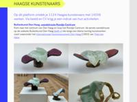 Verwijzing naar de Haagse kunstvereniging STROOM, waar ik lid van ben