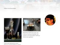 site van beeldend kunstenaar Henk Sentel
