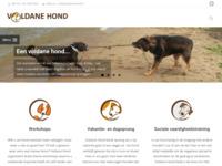 Voldane hond, expositie van mijn hondenschilderijen