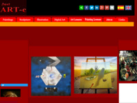 Spaanse site met 'fantastische' kunstenaars. Klik op 'surrealisten'