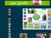 Website van een bevriende grafica met etsen geïnspireerd op de natuur.