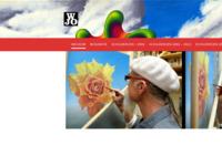 Jo Willems, een geweldige, getalenteerde surrealist. Het eerste wat in zijn werken opvalt zijn de kleurenschakelingen. Hij beheerst de techniek uitstekend. Het heeft ook iets van Dali weg. Kijken dus.
