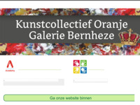 kunstcollectief oranje reizende expositie met kunstuitleen, traditionele en moderne kunst van 50 kunstenaars uit heel Nederland