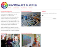 Kunst en cultuur Blaricum. Op de site staan alle kunstenaars die lid zijn van kunstenaars Blaricum.De kunstclub 'Kunstenaars Blaricum' verenigt bijna 70 kunstenaars.