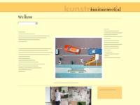 Overkoepelende website op het gebied van hedendaagse professionele kunst.