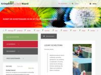 pagina op website voor kunst en kunstenaars uit de Krimpenerwaard.