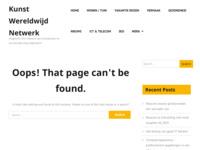 My Website on Kunstwereldwijdnet