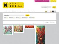 Schilderijen van Ariane Koch.  Ook voor andere kunstwerken van andere kunstenaars kunt u via deze website makkelijk zoeken.