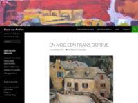 Website van de kunstenaar Andries de Jong