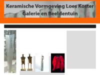 Galerie van Loes Koster in Muntendam waar 4 keer per jaar een expositie in huiselijke sfeer wordt georganiseerd. De exposities hebbensteedswisselende kunstenaars met een zeer divers aanbod: keramiek, beelden, objecten, foto's,kleding, sieraden, tekeningen, etsen, glas,etc..