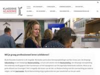 Klassieke Academie voor Beeldende Kunst in Groningen De beroepsopleiding voor Nederlands Realisme in Nederland.