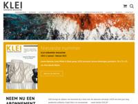Klei is een online magazine voor mensen die interesse hebben in keramiek.