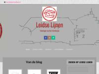 Blog en galerij met alle werken in het project Leidse Lijnenvan Bart Mulckhuijse. Minimalistische lijntekeningen van de mooiste plaatsen in Leiden - en daarbuiten. Uitgevoerd in alle eenvoud met potlood en papier. Abstract en toch altijd herkenbaar.