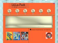 De website van LiLLa Pooh design, met ook grafisch-illustratieve vormgeving,textielproducten en sieradenvan de hand van Marlies Woltjer.