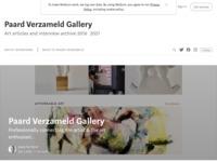 Indrukwekkende site met equine kunstvormen uit diverse landen.. Voor de liefhebber een must!  Bezoek ook www.paardverzameldgallery.com , webshop enkele (nederlandse) deelnemers