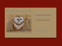site voor haptotherapie, schilderij van be-art is gebruikt voor de website