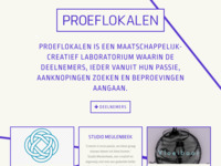 <p>&nbsp;</p>  <p>Proeflokalen in Zutphen is een maatschappelijk-creatief laboratorium waarin de deelnemers, ieder vanuit hun passie, aanknopingen zoeken en beproevingen aangaan. Hier is mijn atelier gevestigd sinds mei 2016.</p>  <p>&nbsp;</p>