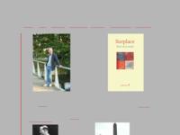 Dichter René van Loenen, o.a. van de bundel 'Straatliefde gras'. Een aantal gedichten uit deze bundel gebruik ik naast mijn werk