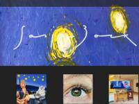 Sasja Bork -1971, Ruinen- schilder (olieverf) en graficus (staaldruk) Ik laat mijn schilderstijl van het onderwerp afhangen. Realistisch in een portret, surrealistisch in mijn zelfportretten, strak met paletmes in mijn cafe interieurs, gestileerd in mijn landschappen en gecombineerd in mijn serie vrouw tussen kracht en kwetsbaarheid. Stijl is slechts het middel. Expressie het doel. Een werk moet overkomen. Het moet raken. Natuurlijk is mijn werk voor de oplettende kijker te herkennen als een Bork. De heldere kleuren, gedefinieerde overgangen, het sterke licht-donker en mijn voorkeur voor diagonalen en organische vormen verraden me toch altijd weer. Dit was Sas over zichzelf en haar werk,wat ik er nog aan toe zou willen voegen is dit, Sasja is een duizendpoot barstensvol energie, dus ga zeker even kijken!
