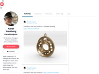 Karel'S Jewel Design in a ShapeWays Web Shop