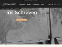 Ook is mijn werk nu te bezichtigen opwww.singulart.com, mijn nieuwe online galerie. My work is also shownonSingulart.com in seven different languages. Thanks Singulart!