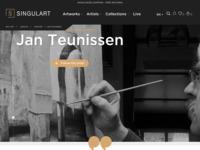 Internationale verkoopsite met o.a. werk van Jan Teunissen