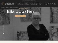 Find my work on Singulart.  Buy online art work