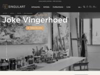 Singulart.comis een internationale online kunstwebshop.