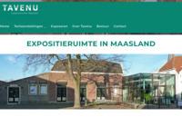 Tavenu is een tentoonstellingsgebouw in Maasland. Je kunt ertegen geringe kosten prima exposeren.