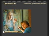 Tejo Hendriks. Illustrator en portretschilder. Een echte vakman in de kunstwereld. Vooral zijn stillevens zijn de moeite waard.  Een aanrader dus.