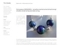 Tini Muller - Sieraden van emaille, zilver en titanium