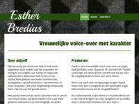 Een website waar informatie te vinden is van mijn werk als voice over.