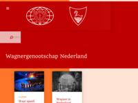 Site van het Wagnergenootschap Nederland, dat zich bezighoudt met bestudering van de werken en het leven van Richard Wagner.