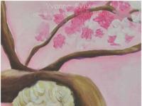 schilderijen en tekeningen van Yvonne Evers