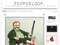 Site van Tekenaar/Cartoonist Joep Bertrams